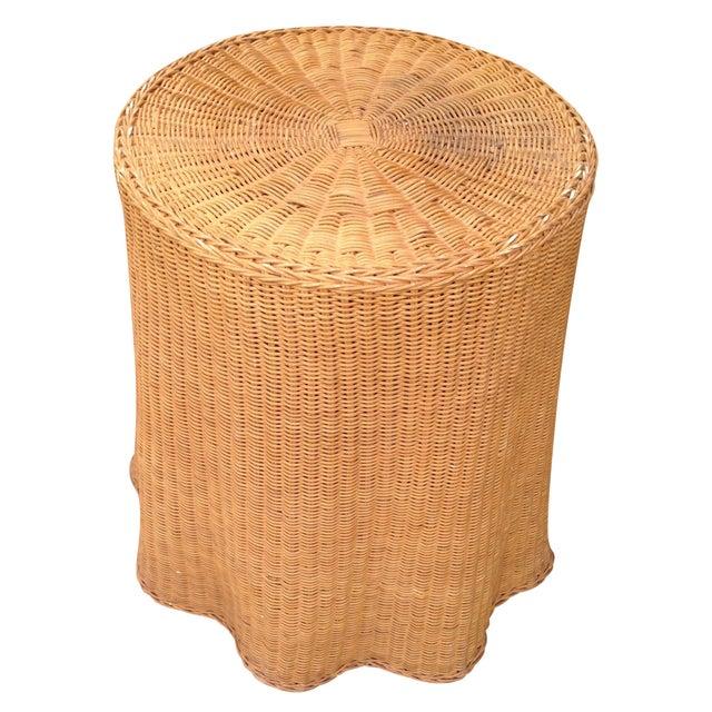 Soane Ripple Circular Rattan Table - Image 1 of 5