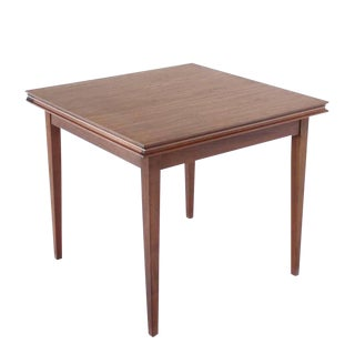 Square Flip-Top Game Table