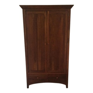 Ethan Allen American Impressions Solid Cherry Armoire