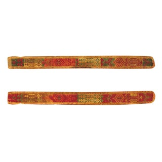 Double Sided Velvet Ikat belt