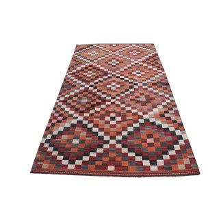 Antique Gasghgai Kilim Rug - 5′ × 8′9″