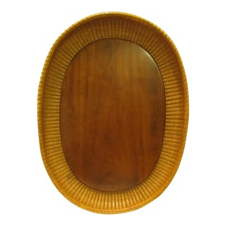 Vintage Nantucket Basket Tray
