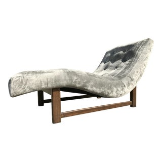 Adrian Pearsall Style Wave Chaise Lounge