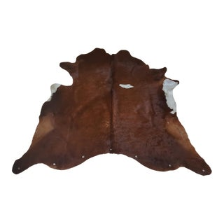 Cow Hide Rug / Wall Hanging - 7′ × 8′