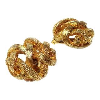 Orena Goldtone Earrings