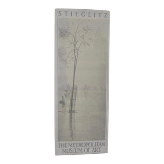 Stieglitz Vintage Exhibition Poster C.1989