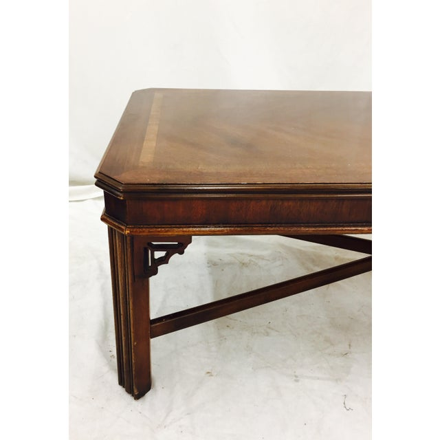 Vintage Lane Chinese Chippendale Coffee Table Chairish