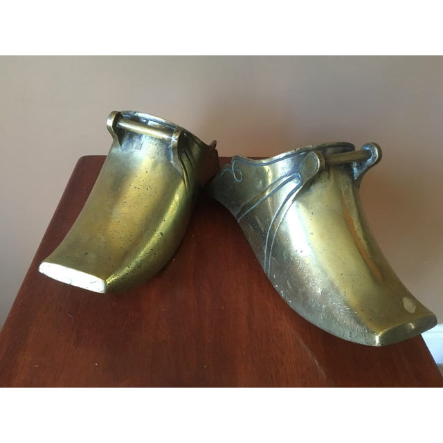 Spanish Colonial Brass Stirrups - a Pair - Image 2 of 9