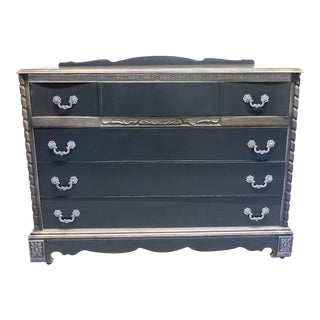 French Country Style Gray Dresser