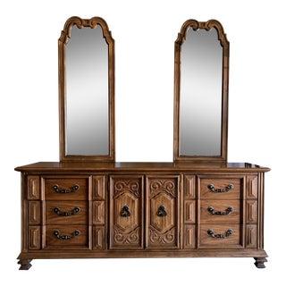 Vintage Thomasville Oak Dresser