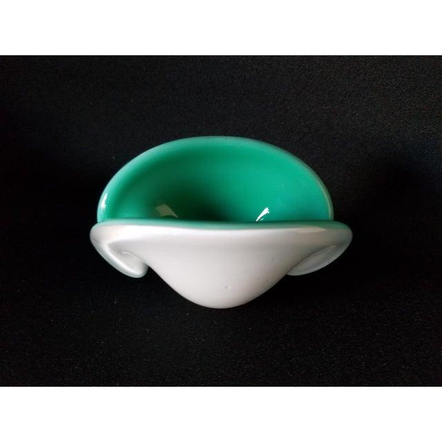 Toso Murano Clamshell Ashtray / Decorative Bowl - Image 4 of 8