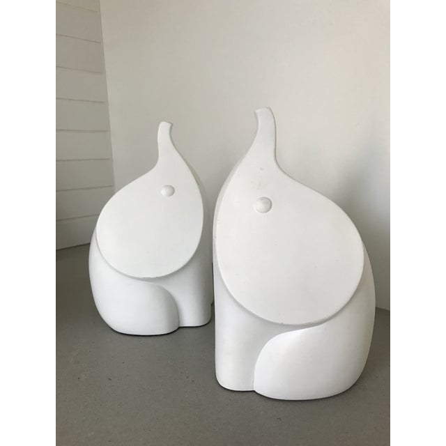 Jonathan adler elephant bookends a pair chairish - Jonathan adler elephant ...
