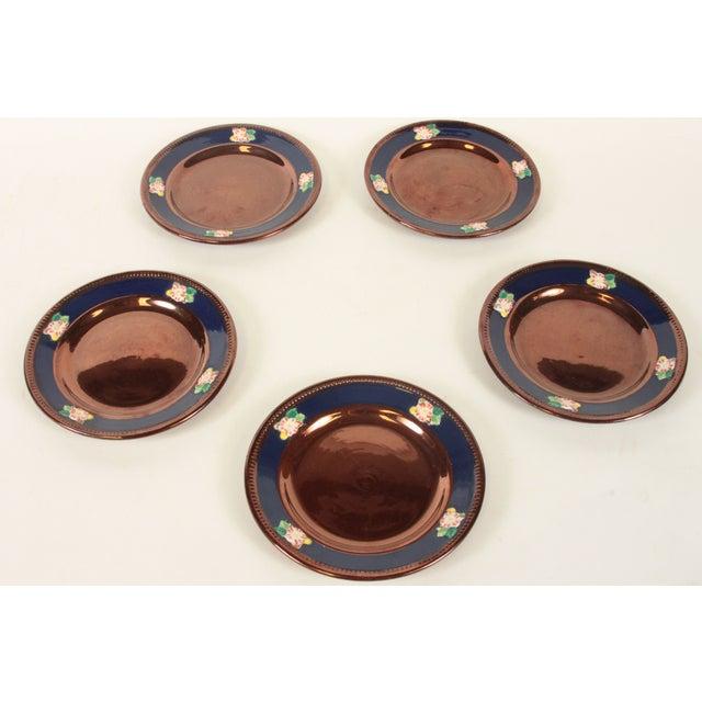 Sarreguemines of France Dessert Plates- Set of 5 - Image 2 of 2