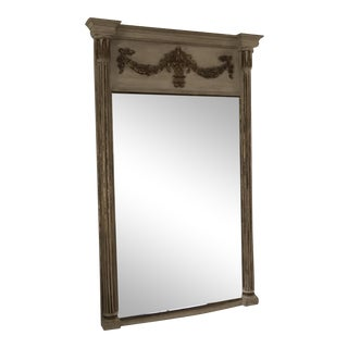Gilded Oak Wall Mirror