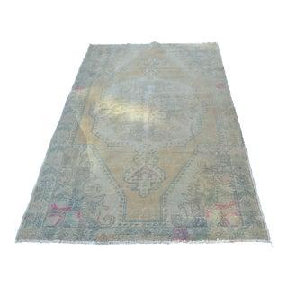 Anatolian Wool Handwoven Floor Rug - 4′6″ × 7′1″