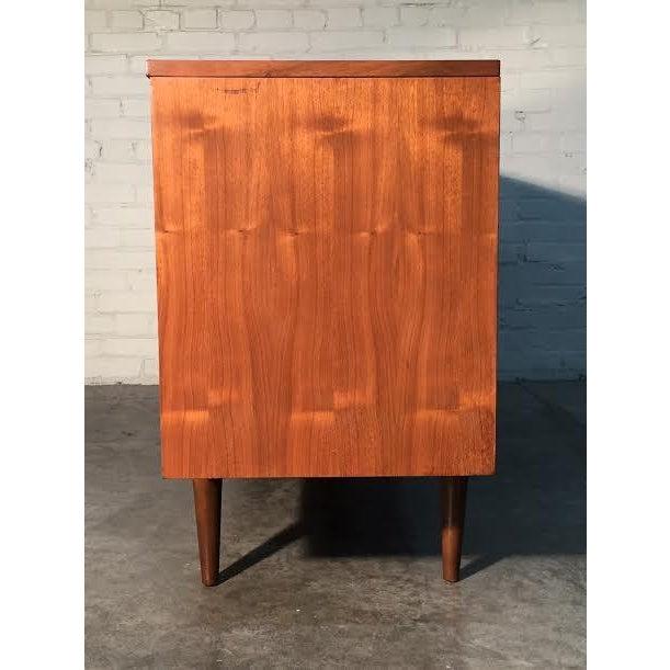 Walnut Mid-Century Danish Modern Dresser - Image 6 of 11