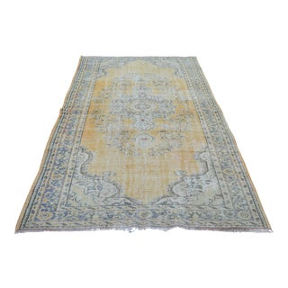 "Anatolian Turkish Oushak Carpet - 63"" x 98"""