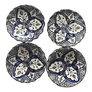 Moroccan Wall Hanging Plates - Set of 4