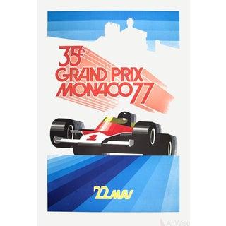 Roland Hugon, Monaco Grand Prix 1977-1990 Lithograph