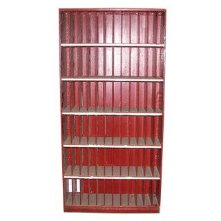 Metal Letter Slot Cabinet