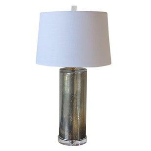 Italian Mercury Glass Lamp
