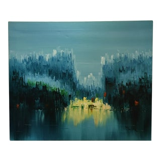 Abstract Landscape Contemporary Oil Painting