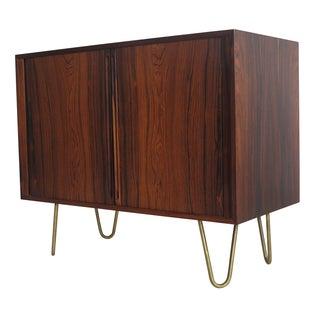 Kai Kristiansen Rosewood Cabinet with Tambour Door