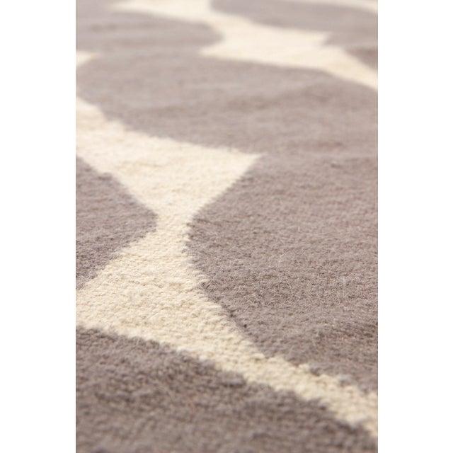 Lotta Jansdotter Gray Wool Rug- 5' X 8' - Image 3 of 6