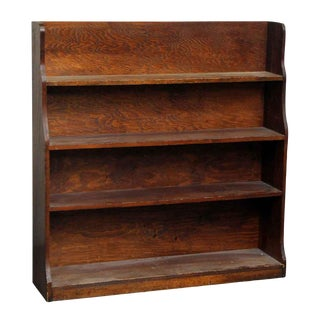 Wooden Bookcase with 4 Shelves