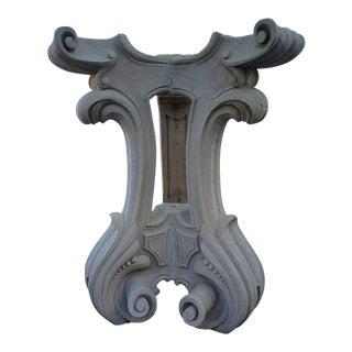 Corinthian Concrete Table Pedestal Plant Stand