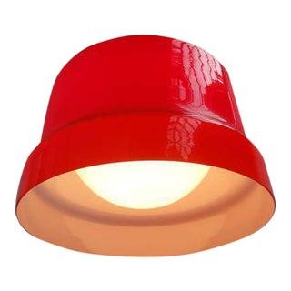 Stunning Large Red Vistosi Pendant