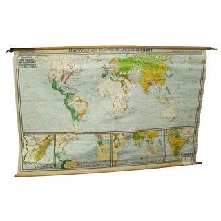 Die Welt Seit Beginn Der Britischen Vorherrchaft Zut Map, 1763
