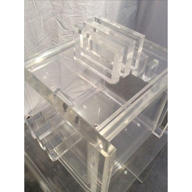 Mid-Century Modern Hollis Jones Style Ice Bucket - Image 7 of 7