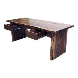 Customizable American Black Walnut Desk