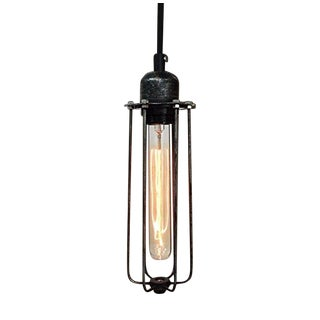 Vintage Industrial Style Cage Pendant Light