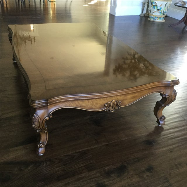 Karges Walnut Coffee Table - Image 2 of 4
