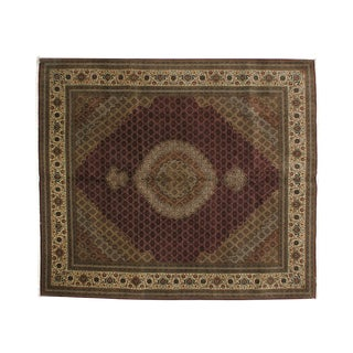 "Leon Banilivi Persian Tabriz Carpet - 8'2"" X 9'6"""