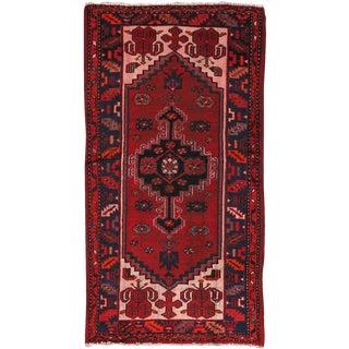 """Vintage Shiraz Wool Area Rug- 3' 4"""" x 6' 5"""""""