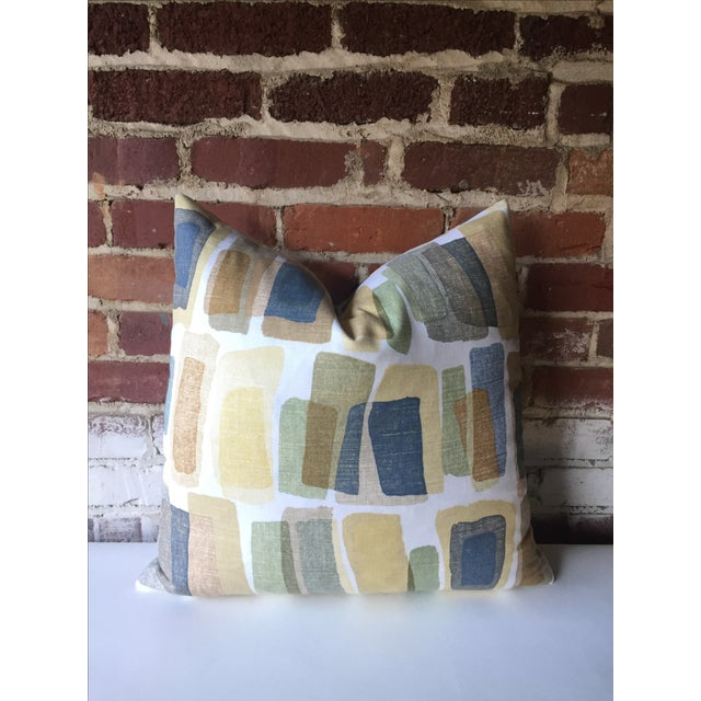 Mid-Century Stonehenge Abstract Pillow Cover - Image 3 of 3