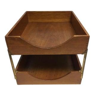 Industrial Weis Wooden Desk File