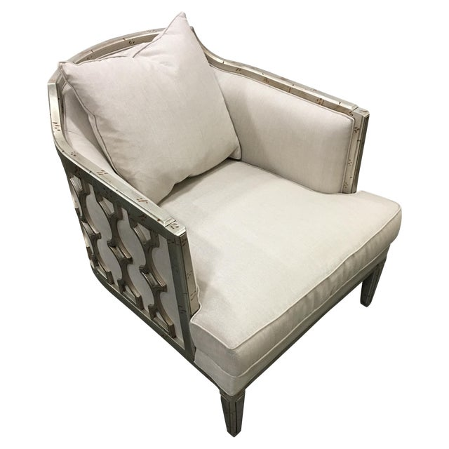 """Image of Caracole """"Bee's Knees"""" Beige Chair"""