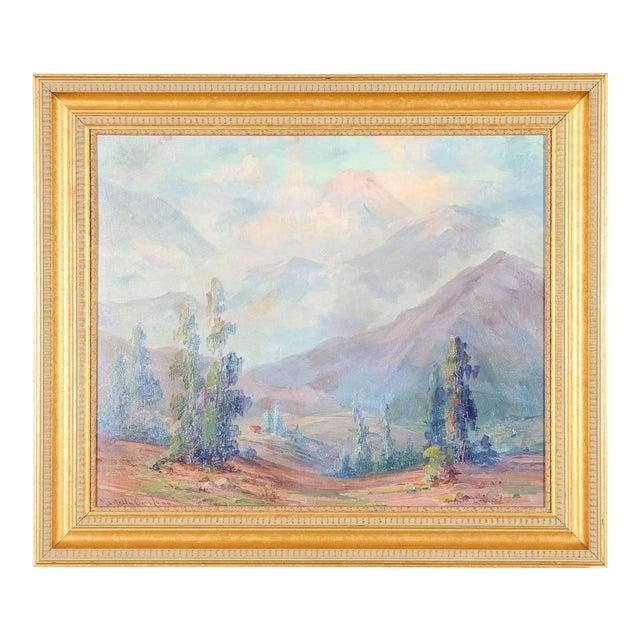 Martella Cone Lane -California Landscape -Oil Painting -Impressionist C.1920s - Image 2 of 10