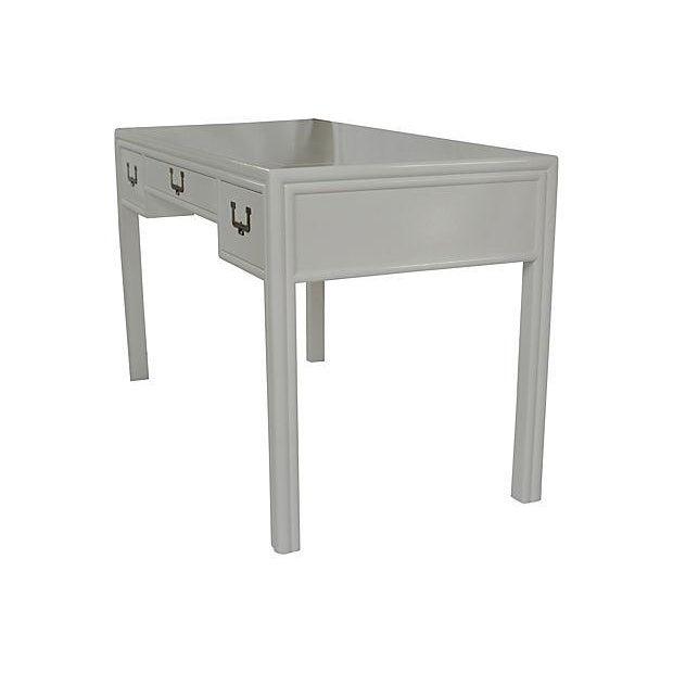 Henredon Artefacts Campaign-Style Desk - Image 2 of 5