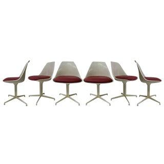Burke Dining Chairs In Style Of Eero Saarinen, Set Of Six