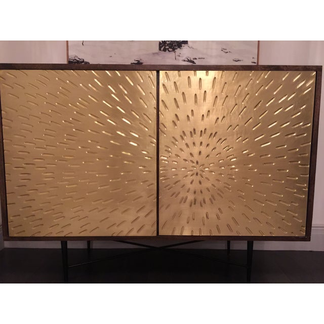 Image of Mid Century Modern Buffet/Media Cabinet