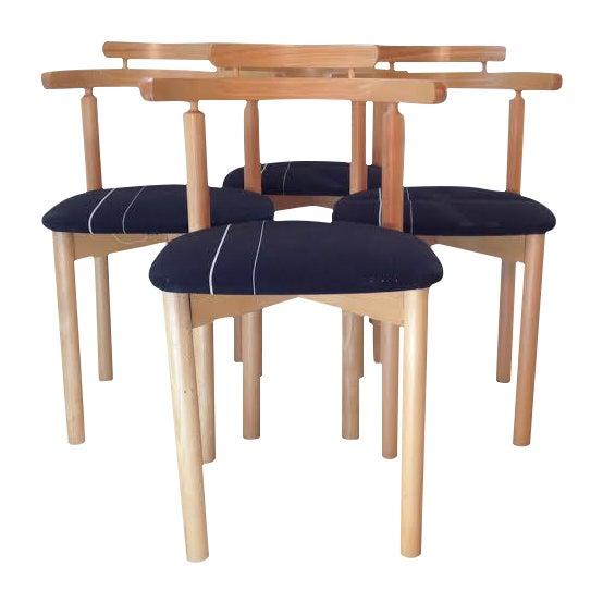Findahls Møbelfabrik 4 Danish Dining Chairs - Image 1 of 5
