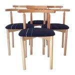 Image of Findahls Møbelfabrik 4 Danish Dining Chairs