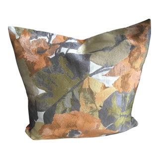 """22"""" - Custom Silk D. V Kap Home Large Floral Pillow Sham"""