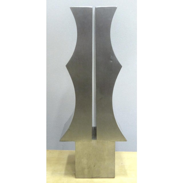 1970s Modernist Aluminum Sculpture by Yutaka Toyota - Image 3 of 11