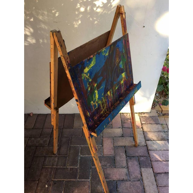 Maine Elementary School Art Easel - Image 8 of 9